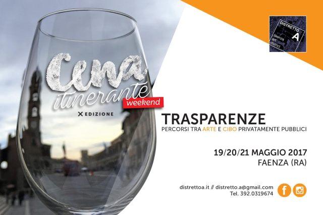 cena itinerante 2017