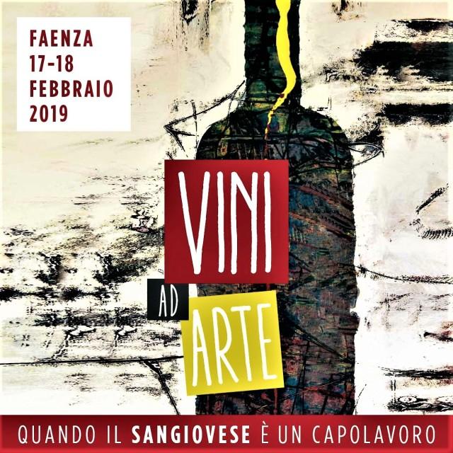 Vini ad Arte 2019 Anteprima del Romagna Sangiovese al Museo delle Ceramiche di Faenza il 17 e 18 febbraio 2019